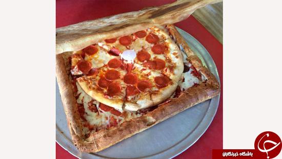 جعبه پیتزا با طعم پیتزا + عکس