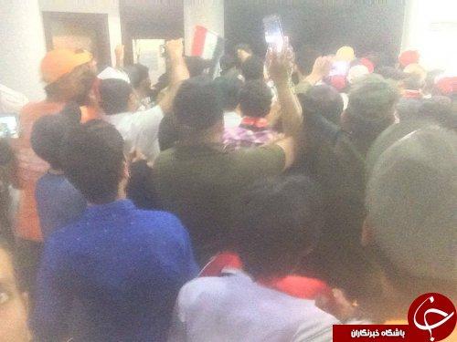 درخواست نوری مالکی برای در اختیار گرفتن کرسی در پارلمان/مجلس عراق در برگزاری جلسه امروز خود ناکام ماند/تحصن هوادارن صدر در صحن مجلس