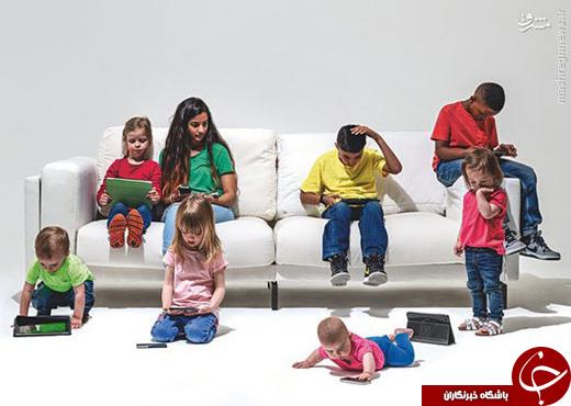 کودکانی که شرایطی بدتر از زندانیان دارند +تصاویر