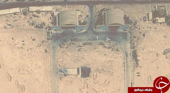استقرار جنگنده های ایرانی در پایگاه