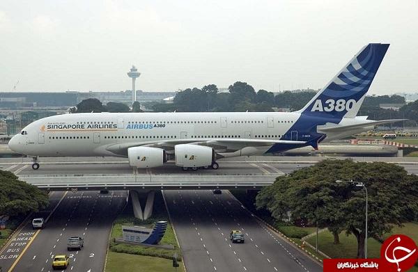 لحظه ی پرواز غول پیکرترین هواپیمای دنیا + فیلم و عکس