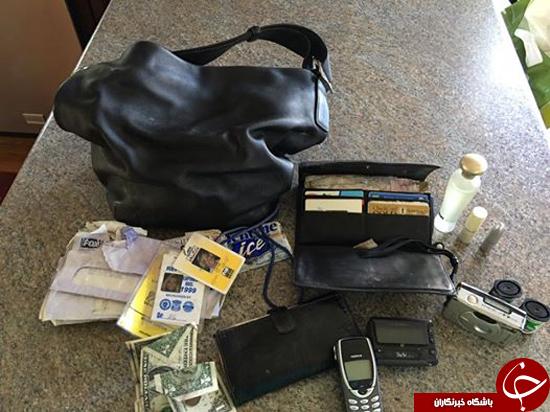 برگرداندن کیف دزدیده شده پس از 14 سال + عکس