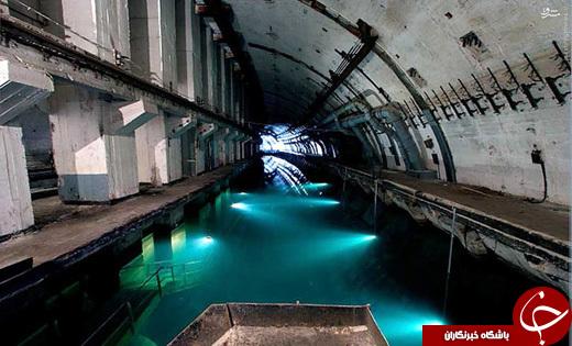 پایگاه فوق سری زیر دریاییهای شوروی/ تصاویر