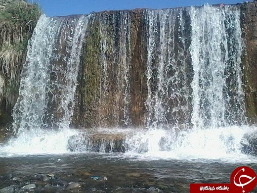 شهروندخبرنگار:ردپای آرامش در کنار آبشار موسیآباد + فیلم و تصاویر