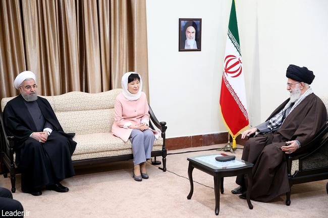 بیانات رهبر معظم انقلاب اسلامی در دیدار رییسجمهوری کره جنوبی
