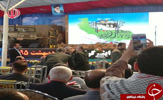 سردار سلیمانی در دیار میرزا کوچک خان جنگلی+تصاویر