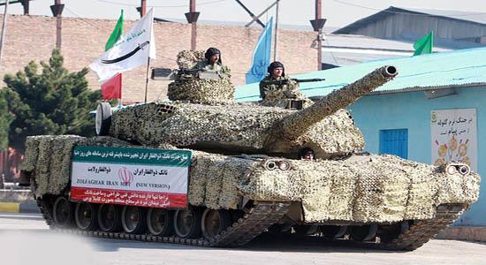 هدیه کرملین به ایران برای کمک به تانک های ایرانی