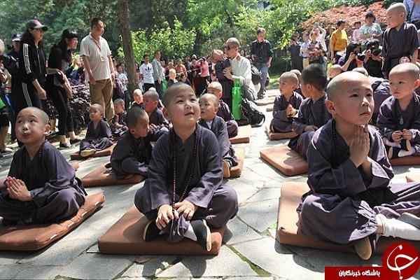 زیباترین کودک راهب بودایی +تصاویر
