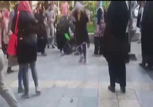 دانلود فیلم درگیری ارازل و اوباش دختر در خیابان های تهران