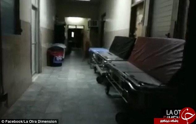 روح سرگردان پزشکی در یک بیمارستان + فیلم و تصاویر