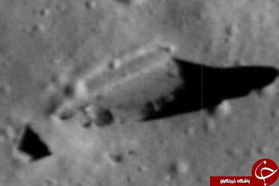 سازههای نظامی روی سطح ماه + تصاویر