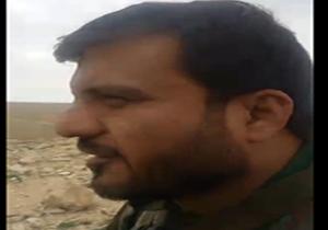یک مدافع حرم ایرانی در محاصره داعش/ ماهی 200 میلیون تومان می گیریم! + فیلم