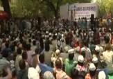 باشگاه خبرنگاران -تظاهرات مردم هند در اعتراض به بحران آب + فیلم