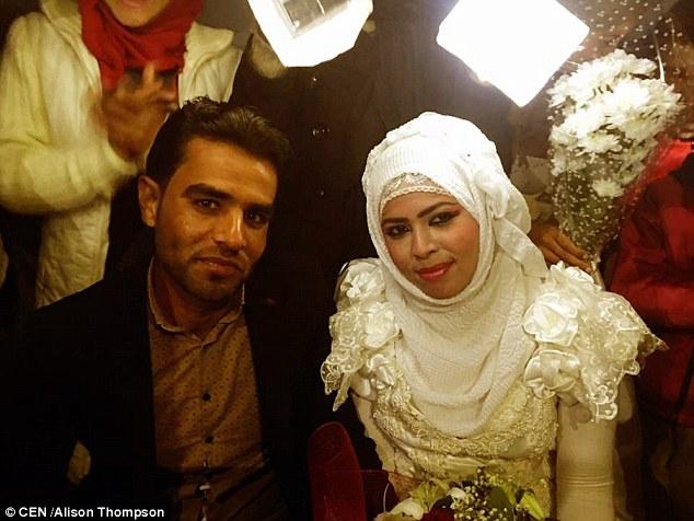 عروسی در کمپ پناهندگان سوری+تصاویر
