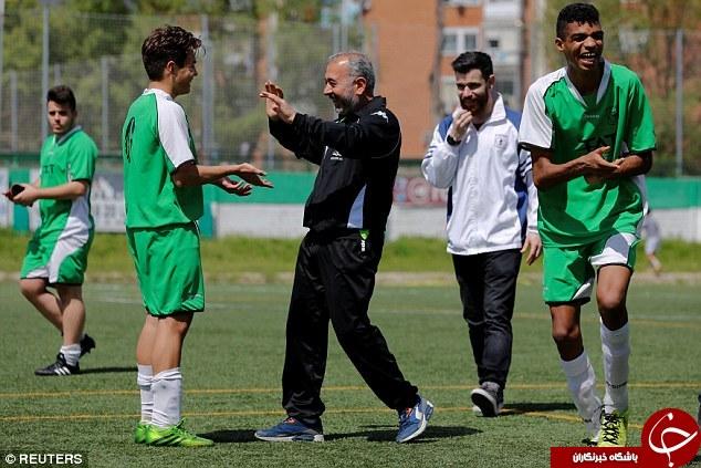 مربی گری پناهجوی سوری در فوتبال اسپانیا