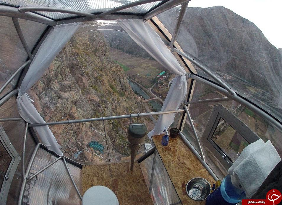 ترسناک ترین هتل کوهستانی جهان