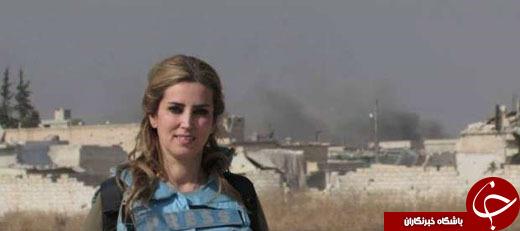 4489830 264 سلفی خانم روزنامه نویس و خبرنگار با اجساد داعشی ها+تصاویر