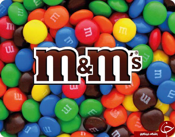 حرف های معروف در مارک معروف شکلات