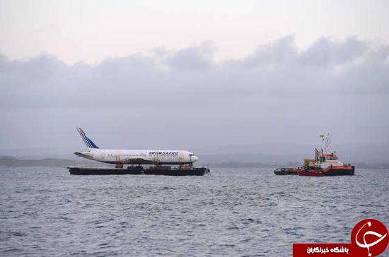 خطرناکترین حمل بار بر روی دریا + تصاویر