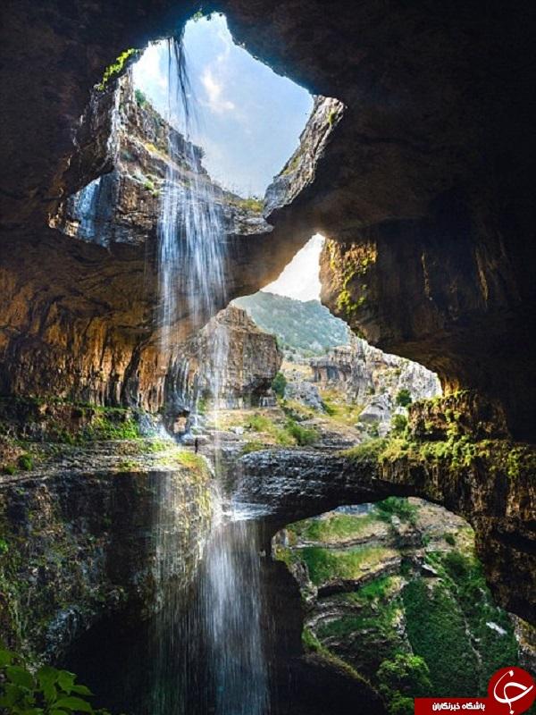 نمایی جدید از طبیعت لبنان +تصاویر