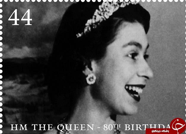 تمبرهای ملکه انگلیس به روایت تصویر +33 عکس