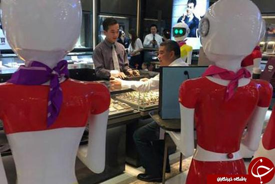 خرید کردن با رباتهای خدمتکار + تصاویر