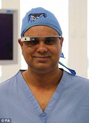 شیو های نوین آموزش اعمال جراحی با استفاده از کامپیوترهای پوشیدنی+ تصاویر