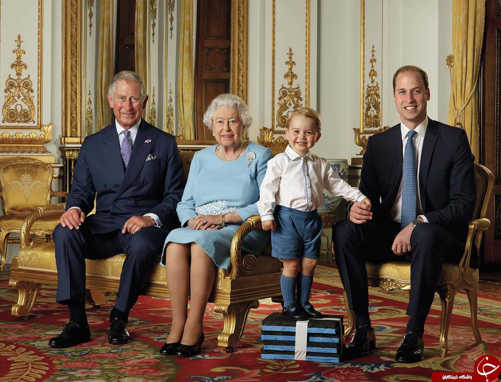 4418790 596 عکس یادگاری 90 سالگی ملکه الیزابت