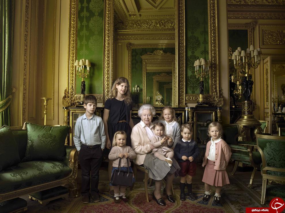 4418791 680 عکس یادگاری 90 سالگی ملکه الیزابت