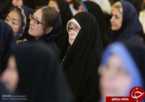 عکس/ حجاب جالب بانوی ژاپنی در تهران