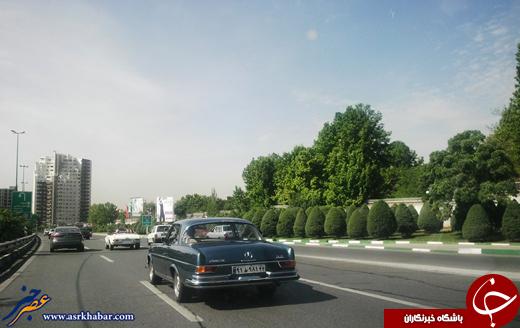 4504159 638 عکس/ پدربزرگهای بنز در خیابانهای تهران