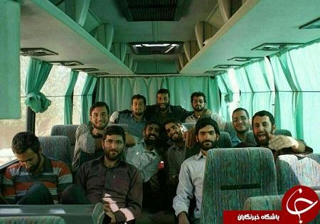 عکس دسته جمعهی شهدای مازندرانی مدافع حرم