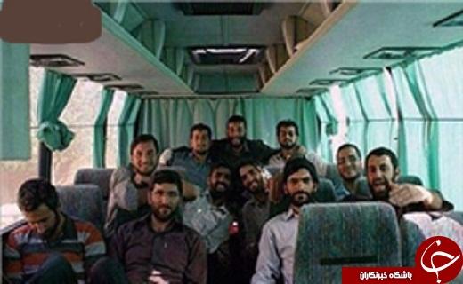 عکس دسته جمعی مدافعان حرم مازندرانی که در «خان طومان» شهید شدند