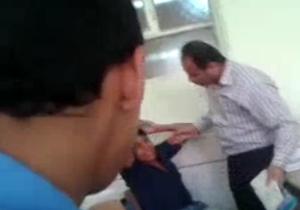 دانلود فیلمی تکان دهنده از کتک زدن معلم