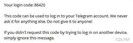 نحوهی گرفتن خروجی PDF از مکالمات تلگرام