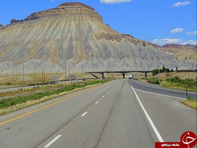 شگفت انگیزترین بزرگراه های جهان+26 عکس