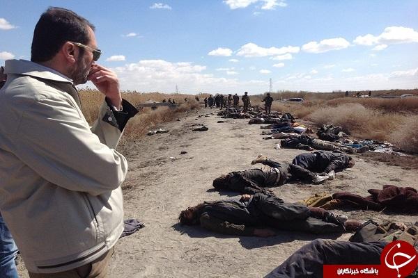 لحظه ی درک واصل شدن داعشی ها + فیلم و عکس