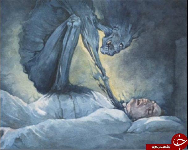 حقایقی از بختک/ عجوزه ای وحشتناک که شب ها به سراغتان می آید