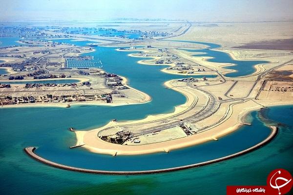شهری عجیب و غریب در کویت +تصاویر