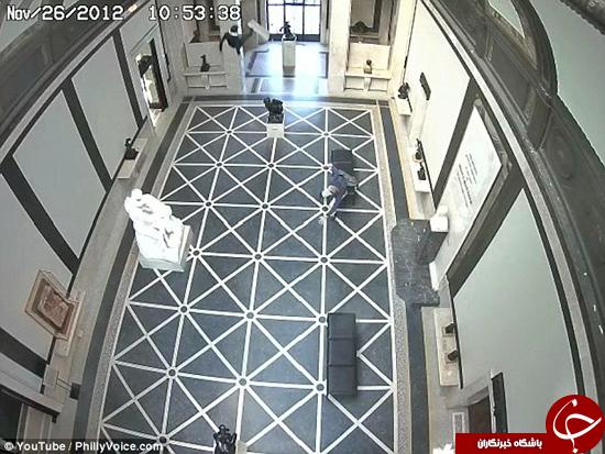 تصاویری از سقوط مهندسی از ارتفاع 12 متری