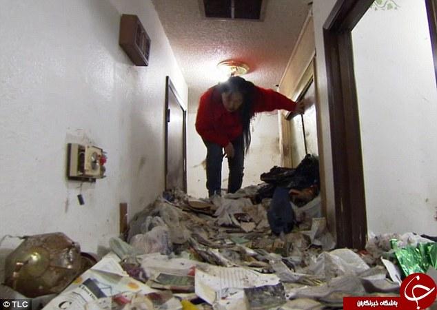 بمب زباله در حال انفجار+تصویر