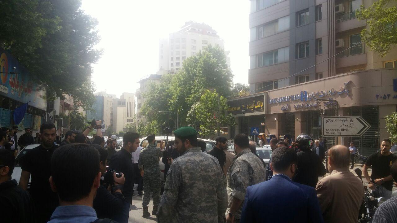 مراسم تشییع پیکر شهید سردار ناظری برگزار شد+ تصاویر