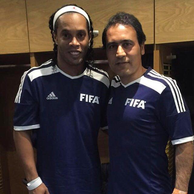 ستاره های فوتبال جهان مبهوت پاس گل مهدوی کیا+فیلم و عکس