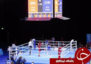 سالن بوکس بازی های المپیک ریو افتتاح شد