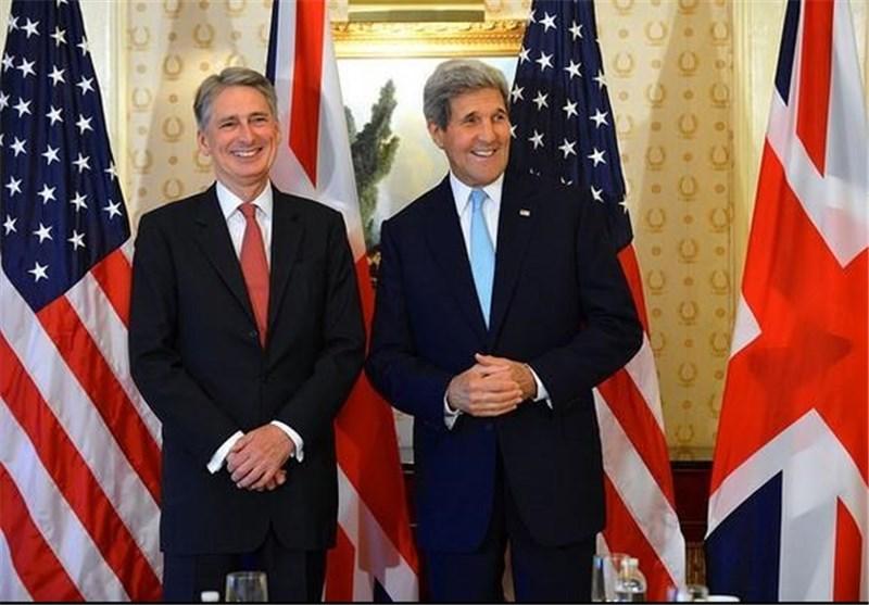 دیدار وزرای امور خارجه آمریکا و انگلیس در لندن