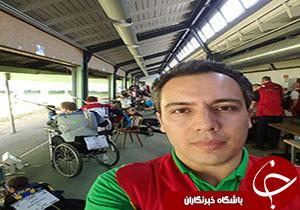 حضور داور قزوينی در مسابقات بين المللی تيراندازی