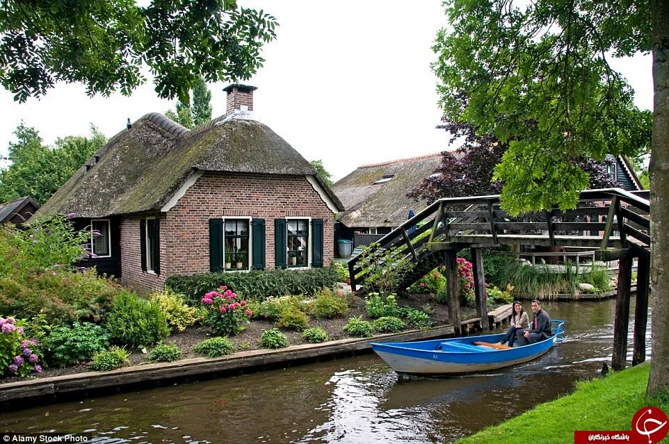 این روستا واقعی است/ زیباترین روستای دنیا + تصاویر