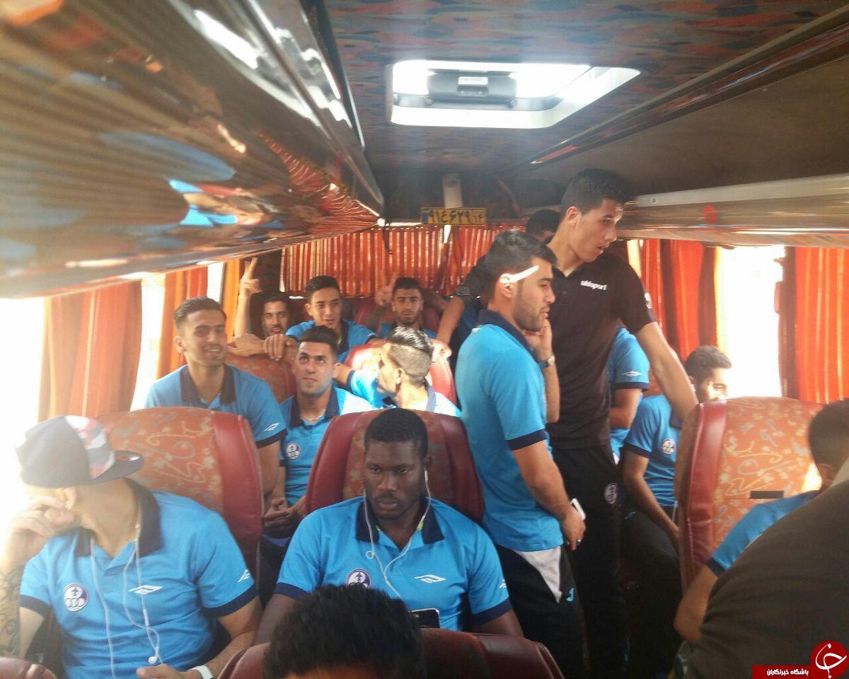 استقلال خوزستانی ها راهی ورزشگاه شدند
