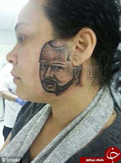 خالکوبی روی صورت ، اثرات مخرب خالکوبی ، خالکوبی روی دست