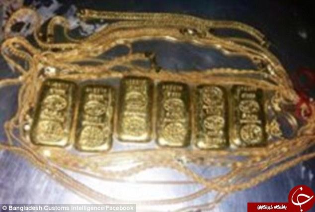 قاچاق طلا در روده انسان +تصاویر